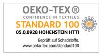 Copper Plus nach OEKO-Tex Standard hergestellt